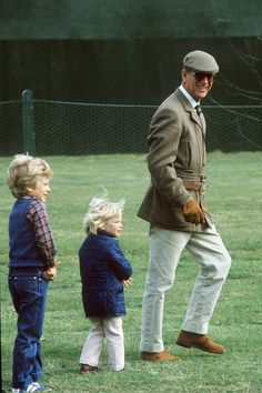 22 Sweet Photos of Prince Philip with His Grandchildren
