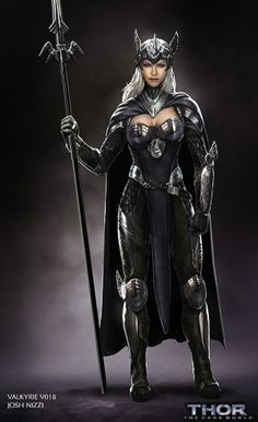 Concept art shows what superheroine ALMOST made it into Thor 2 | Blastr