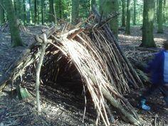 build your own den / hideout
