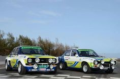 Ford Escort Rally Cars - Historic Sport - Vintage
