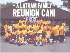 A Latham Family Reunion Can!  A Latham family reunion can...  •  increase family interaction •  serve as a means to research family heritage •  share and perserve family heritage •  build family unity •  make family connections •  foster intergenerational relationships •  create family memories •  encourage family bonding activities •  promote fun for the whole family •  share family history information •  enable family communication •  establish famil