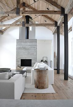 concrete in interiors by the style files, via Flickr