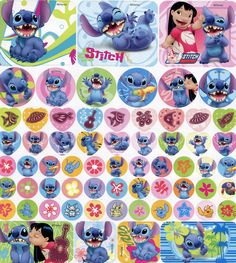 Stitch Stickers | by This and That From Japan
