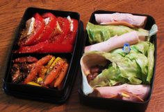 low carb bento Lunch Box for Adults | cold lunch with hot trapezoid totally low carb cold salad lunch here ...