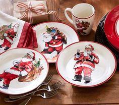 Pretty Christmas dishes