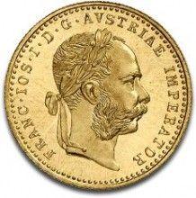 Naast vele soorten beleggings munten kunt u ook verzamel gouden munten kopen bij Dutch Bullion. Zoals hier de Oostenrijkse 1 Dukaat Gouden Munt. Voor een overzicht van al onze andere zeldzame Gouden Munten kunt u hier kijken: https://www.dutchbullion.nl/Goud-Kopen/Gouden-munten/