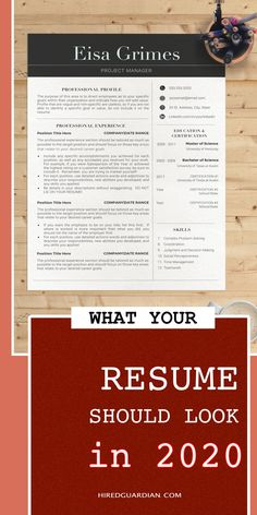 Professional Resume Examples to give you inspiration for how to make your own professional design resume template. #professionalresume #minimalistresume #resumetemplate #modernresume
