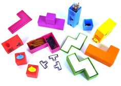 Tetris Desk Tidy.....so want!