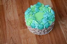 CAKE flower butter cream