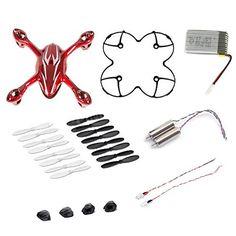 BESTSELLER! AFUNTA Hubsan X4 H107C Quadcopter Red... $19.99