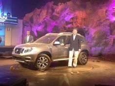 Nissan today showcased the all-new Terrano premium compact SUV at a blockbuster action packed showcase event at a film studio in Mumbai Nissan Terrano, New Nissan, Compact Suv, Film Studio, Pune, India, Pictures, Photos, Goa India