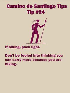 Camino Tips 24a