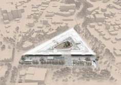 CIVIC architects - Competition for the Archeological Museum in Cyprus - axo Image