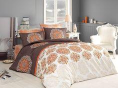 Lenjerie de pat Ranforce Oscar V4 #homedecor #interiordesign #inspiration #bedroom Comforters, Blanket, Decoration, Bed, Design, Creature Comforts, Decor, Quilts, Stream Bed