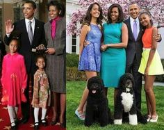 Wow the First daughters are growing up before our eyes.