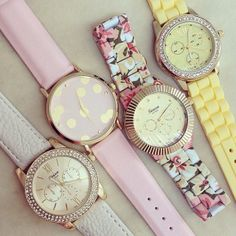 Not a big fan of watches but these are just sooooo cute. If anyone knows where I can find these please comment below!
