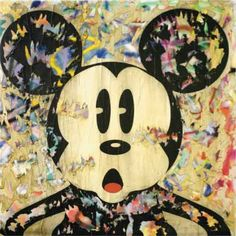 mr.brainwash's mickey mouse