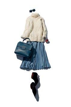 "Fashion / What to wear tomorrow? | Official website"" @BAILA ""of fashion magazine"" BAILA ""to polish the fashion of working women Fashion Mode, Japan Fashion, Work Fashion, Skirt Fashion, Daily Fashion, Korean Fashion, Fashion Looks, Fashion Outfits, Womens Fashion"