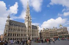 La Grand-Place, Brussels Belgium.  A public open space showcasing an architectural feast through the ages - apparently an excellent starting point for touring Brussels