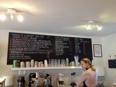 Fika cafe, Jægergårdsgade Aarhus