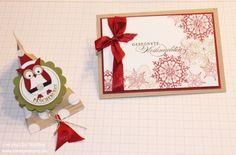 Weihnachtskarte Stampin Up Christmas Card Karte Card 070