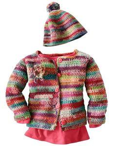 Baby Clothing Free Instructions Crochet kids jacket with cap Baby ClothingSource : Kostenlose Anleitung Kinderjacke mit Mütze häkeln by renatestumpmeier Knitting For Kids, Baby Knitting Patterns, Crochet For Kids, Knit Crochet, Crochet Patterns, Jacket Pattern, Top Pattern, Free Pattern, Sasha Doll