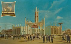 The Coca-Cola Pavilion - 1964-65 New York World's Fair