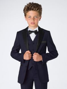 ebb0563c1a18b Boys navy tuxedo - James. Navy Prom SuitBoys ...