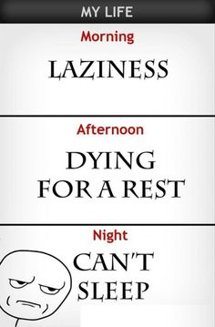 Funny Lazy Pictures Can Not Sleep Rage Comic