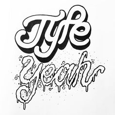 This weeks #typeyeahtuesdays entry goes to @helloparkerg with his creative lettering of the #typeyeahlogo Join the Typeyeah Instagram Challenge by designing your best version of the 'Typeyeah' logo and post it to Instagram with the hashtag #typeyeahlogo. Each Tuesday a favourite will be selected and featured on the Typyeah Instagram page.