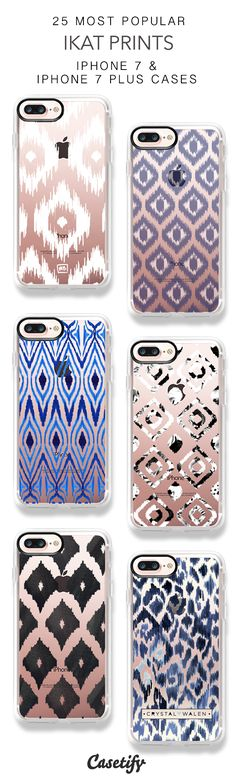25 Most Popular Ikat Prints Protective iPhone 7 Cases and iPhone 7 Plus Cases. More Pattern iPhone case here > https://www.casetify.com/collections/top_100_designs#/?vc=vsJT5VD5sD