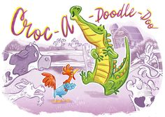 This crocodile does not belong herelikeI DO!  Humph! With his Croc-a-doodle-doo!  Its all wrong! Don't yousee?  Thatcroc isn't thestar…It should be ME! &nb…