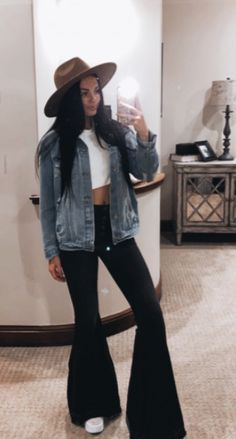 Western Style, Western Wear, Country Style, My Style, Black Pants Outfit, Cute Jeans, Women's Fashion, Fashion Outfits, Stretch Jeans
