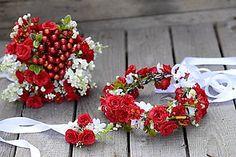 Iné doplnky - svadobný set by michelle flowers - 5228862_