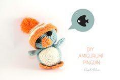 Kreativbühne - Break Conventions In DIY : DIY: Amigurumi Pinguin mit XXL-Mützchen