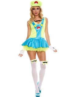 Green Playful Plumber  sc 1 st  Pinterest & Bad Hot Tinkerbell | Sexy Tinkerbell Costume For Women ...