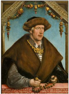 Christoph von Laiming in his 59th year, Wertinger, Hans - V & A, Germany 1517