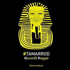 Anonymous/Tamarrod #tamarrod #egypt #june30 Download high resolution http://www.politicalcomics.info/tamarrod-30june