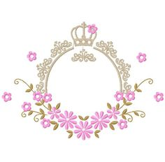 Machine Embroidery Projects, Embroidery Designs, Baby Shower Wall Decor, Bridal Logo, Fondant Flower Tutorial, Cake Logo Design, Flower Background Wallpaper, Kids Room Art, Wedding Card Design