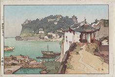 Yoshida Hiroshi: Sekishozan. (Shi-chung-shan, South China) - Museum of Fine Arts