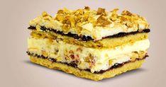 """Tortul """"Pani Walewska"""" este cel mai rafinat desert din bucătăria poloneză și va fi pe gustul tuturor gurmanzilor. Acesta combină armonios blatul sfărâmicios, bezeaua și crema de vanilie. O notă aparte este oferită de gemul dulce-acrișor de coacăze și nucile mărunțite. Acest tort fascinant poate fi preparat de oricine, fiindcă este foarte simplu. Tortul """"Pani Walewska"""" va înfrumuseța orice eveniment și va atrage toate privirile prin aspectul său spectaculos! Ingrediente pentru blat -300 g de făin Napoleon Cake, Enjoy Your Meal, Honey Cake, No Bake Desserts, Cheesecakes, Chocolate Cake, Tiramisu, Food And Drink, Pie"""