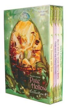 Tales From Pixie Hollow 4 copy Box Set (Disney Fairies)(Trouble with Tink, Lily's Pesky Plant, Vidia and the Fairy Crown, Beck and the Great Berry Battle) by RH Disney. $16.29. Reading level: Ages 8 and up. Publisher: RH/Disney; First Edition edition (August 8, 2006). Save 32% Off!