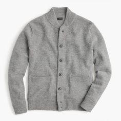 Lambswool bomber jacket