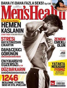 Gregg Avedon - Men's Health Magazine Cover [Turkey] (September 2008)