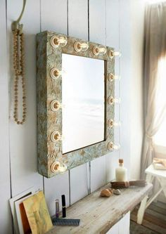 I so want this #illluminated #hollwoodsryle #goldmirror and the #bathroom to go with it! Reflectionsofme.co.uk