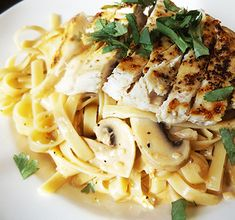 Grilled Chicken and Fettuccini in Chipotle Cream Sauce - Powered by @ultimaterecipe