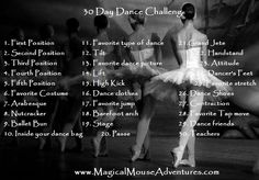 Magical Mouse Adventures: 30 Day Dance Challenge with Hannah