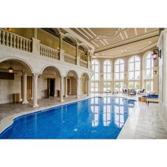 Stately & Ornate 24,000 Square Foot Mega Mansion In Canada ❤ liked on Polyvore featuring house, places and rooms