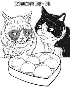 grumpy cat free coloring pagescoloring - Grumpy Cat Coloring Pages