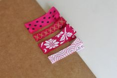 Grosgrain Ribbon Covered Clips : Factory Direct Craft Blog